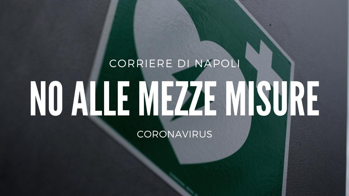Coronavirus: Le mezze misure non risolvono il problema