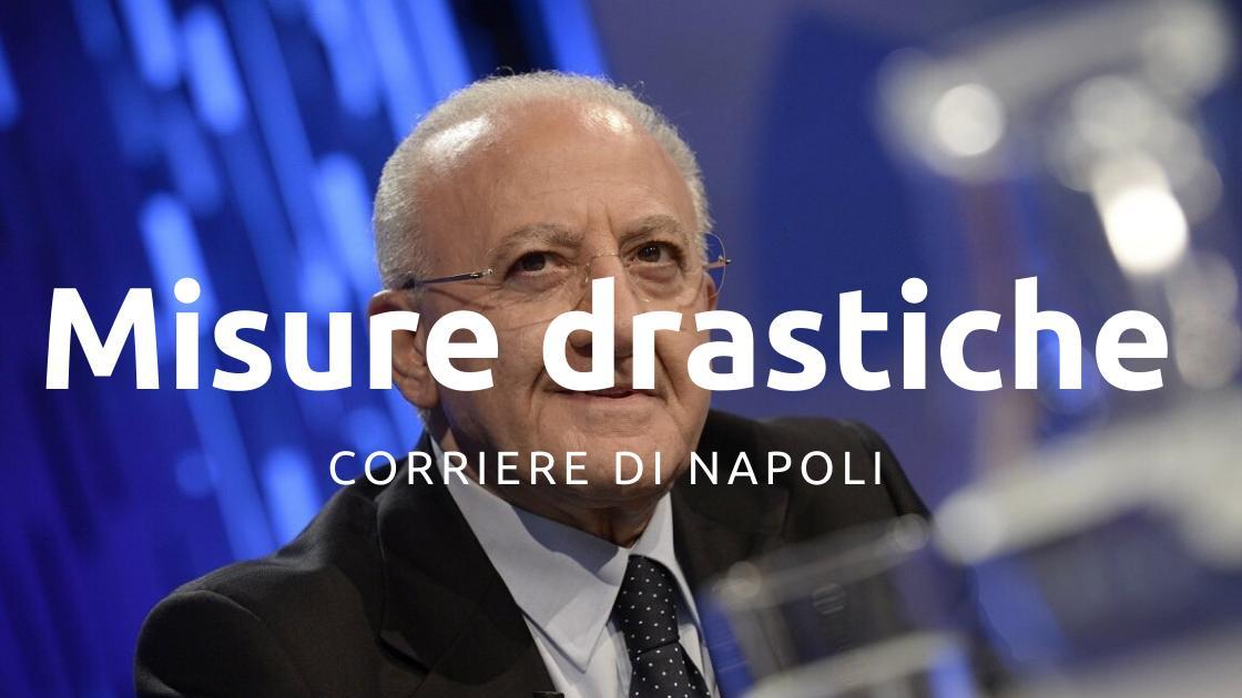 News: De Luca chiede a Conte misure drastiche