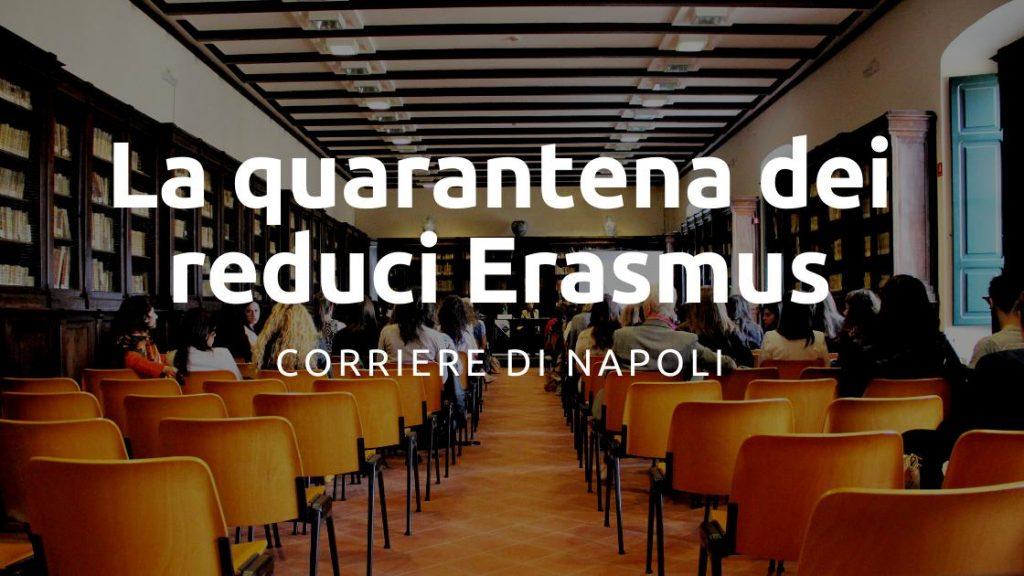 La quarantena dei reduci Erasmus UNISOB