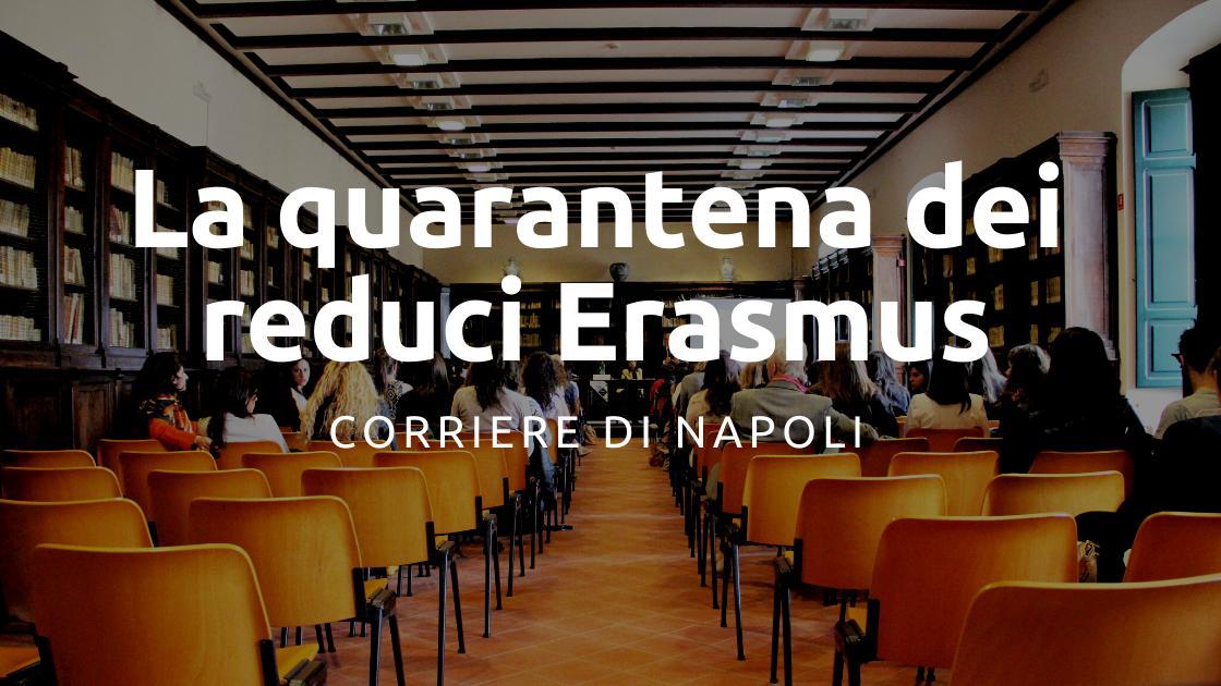 Coronavirus: la quarantena dei reduci Erasmus UNISOB