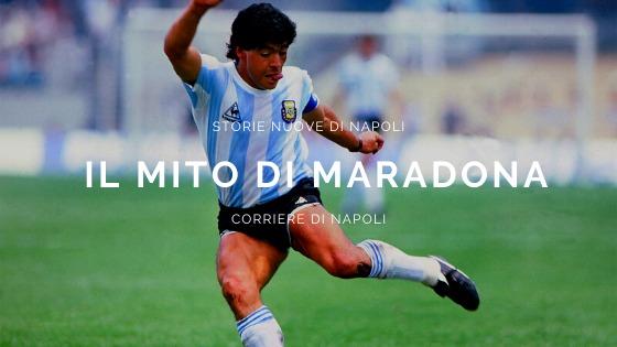 #vivinapoli, Storie nuove di Napoli: il mito di Maradona