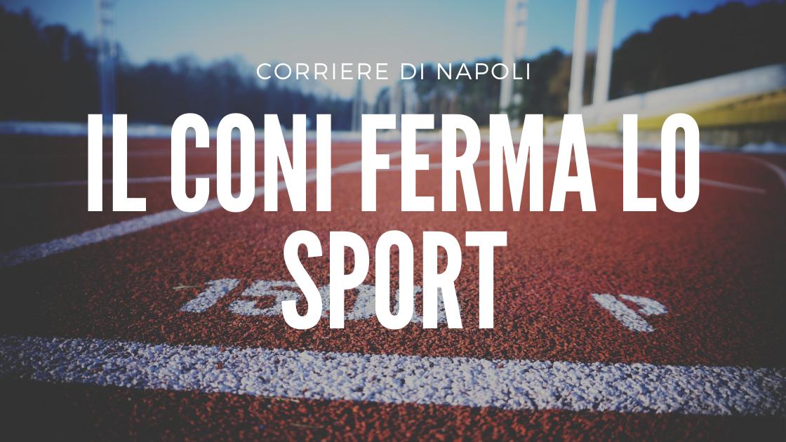 Sport: il CONI ferma tutto fino al 3 aprile!