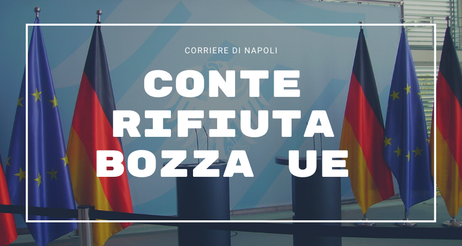 Coronavirus: Conte rifiuta bozza UE