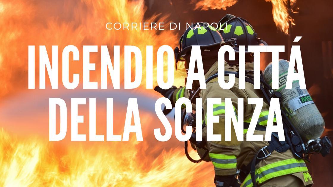 Incendio a città della scienza