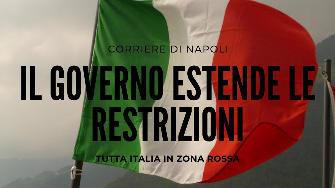 Coronavirus: Conte ferma l'Italia fino al 3 aprile