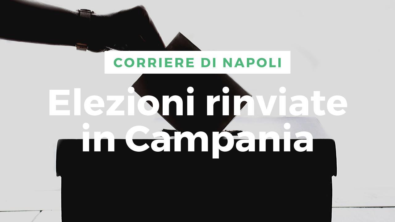 Politica, Covid-19: elezioni regionali rinviate