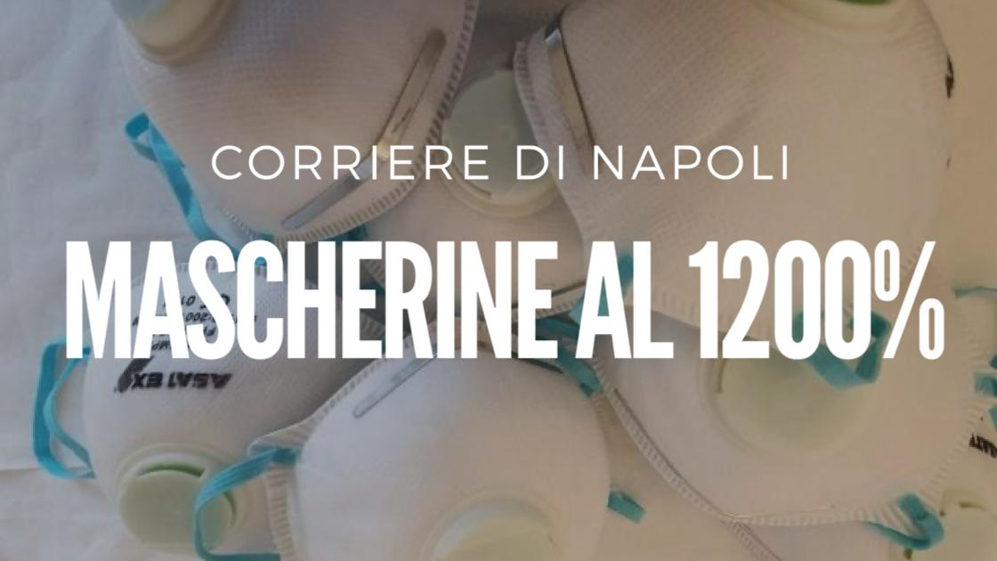 News, Napoli: Mascherine vendute al 1200%