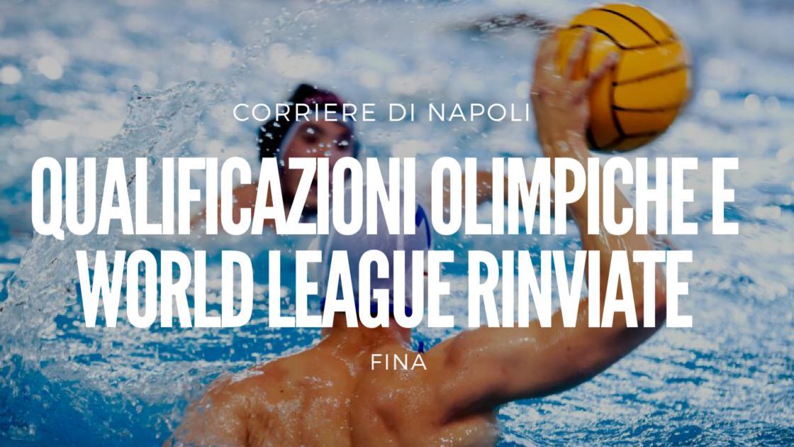 Sport, Pallanuoto: FINA rinvia qualificazioni olimpiche e World League