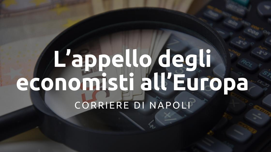 Politica: l'appello di 67 economisti italiani all'UE
