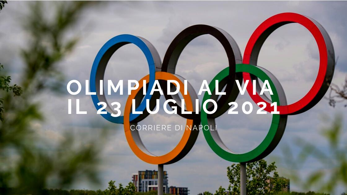Sport, Ufficiale: Olimpiadi al via il 23 Luglio 2021