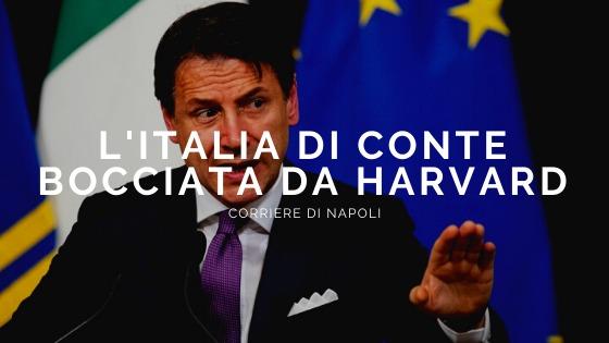 Coronavirus: L'Italia di Conte bocciata da Harvard