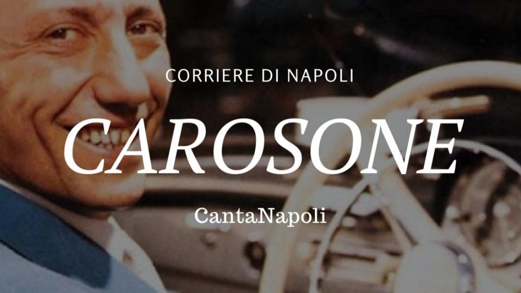 Carosone the face of naples