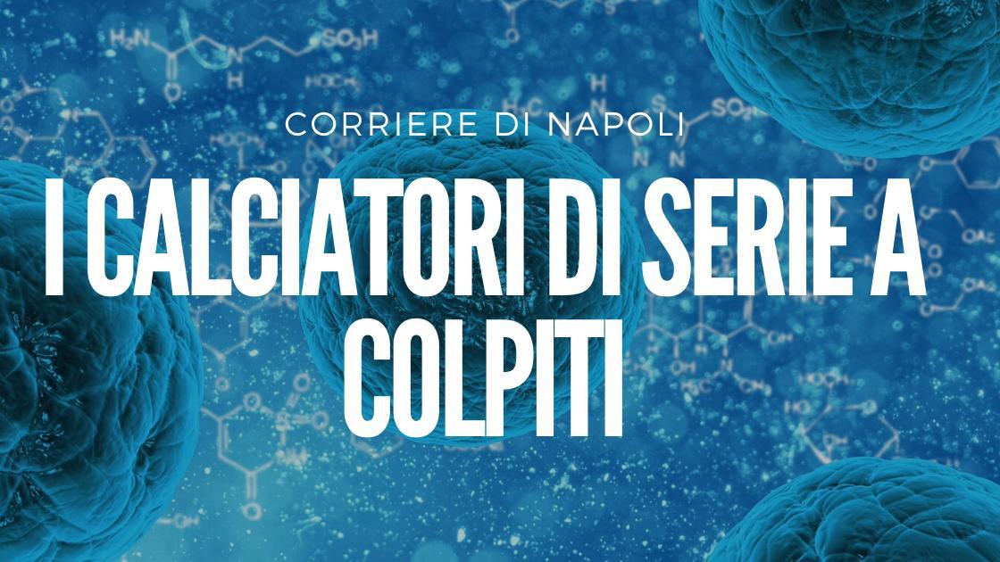 Coronavirus: i calciatori di Serie A colpiti