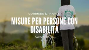 misure per persone con disabilità