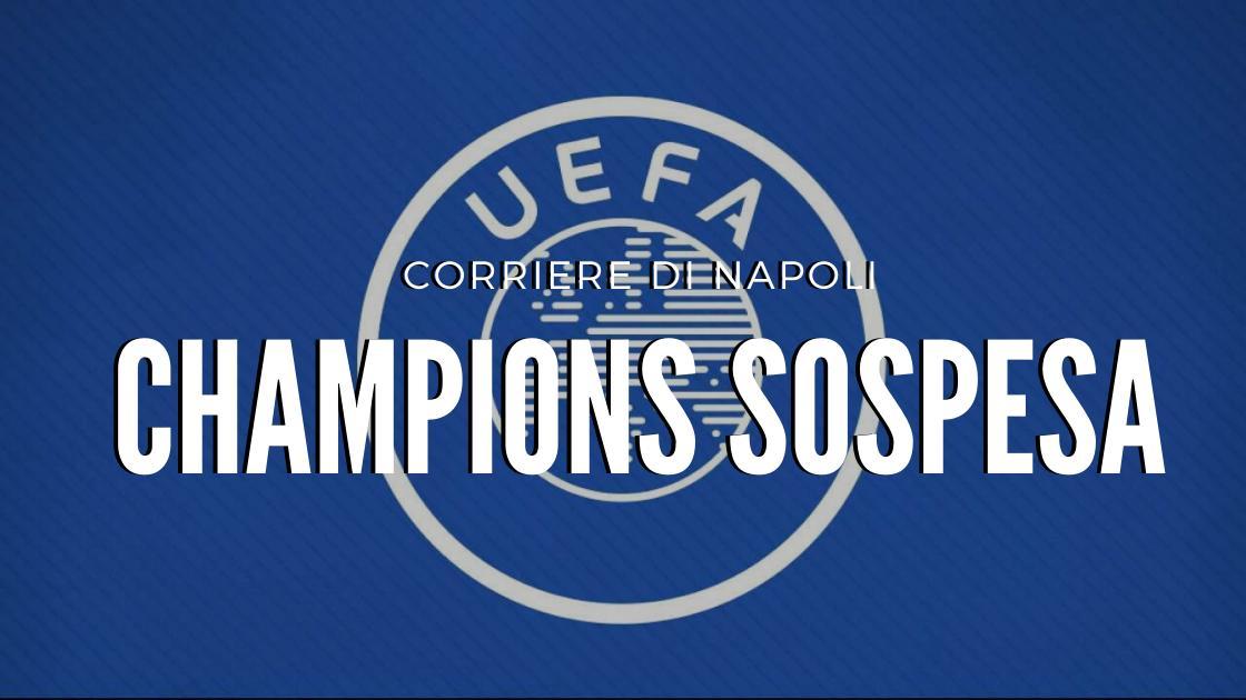 Sport: la UEFA sospende la Champions!