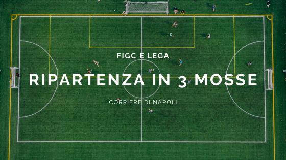 Calcio, news: la FIGC e Lega optano per una ripartenza in tre mosse