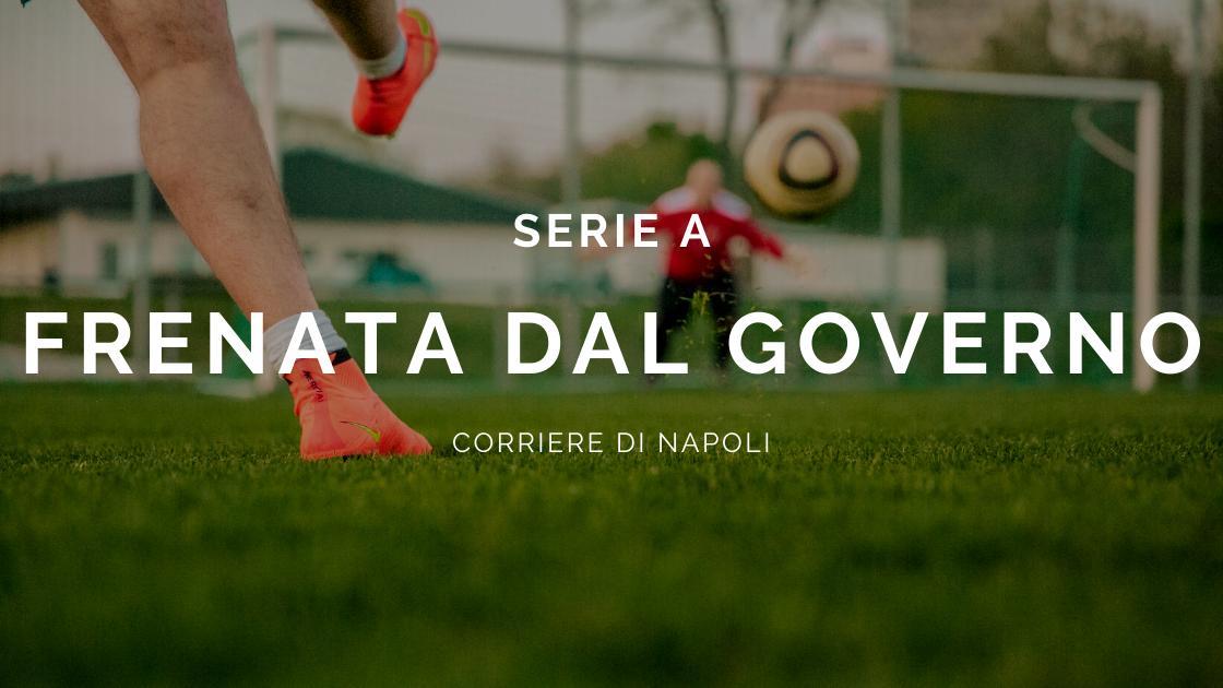 Calcio, Coronavirus: Serie A, steccata dal Governo