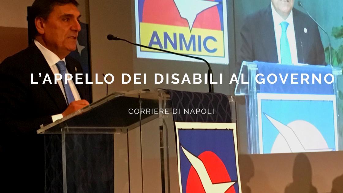 News: l'appello dei disabili al Governo