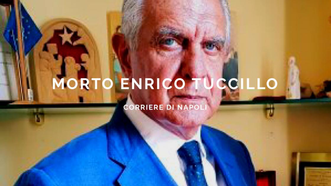 News: si è spento Enrico Tuccillo