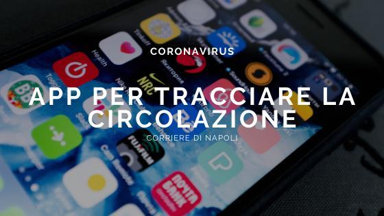Coronavirus: app per tracciare la circolazione del virus