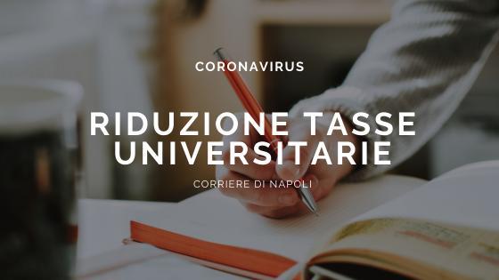 Coronavirus: Manfredi e le ipotesi universitarie. Tasse ridotte?