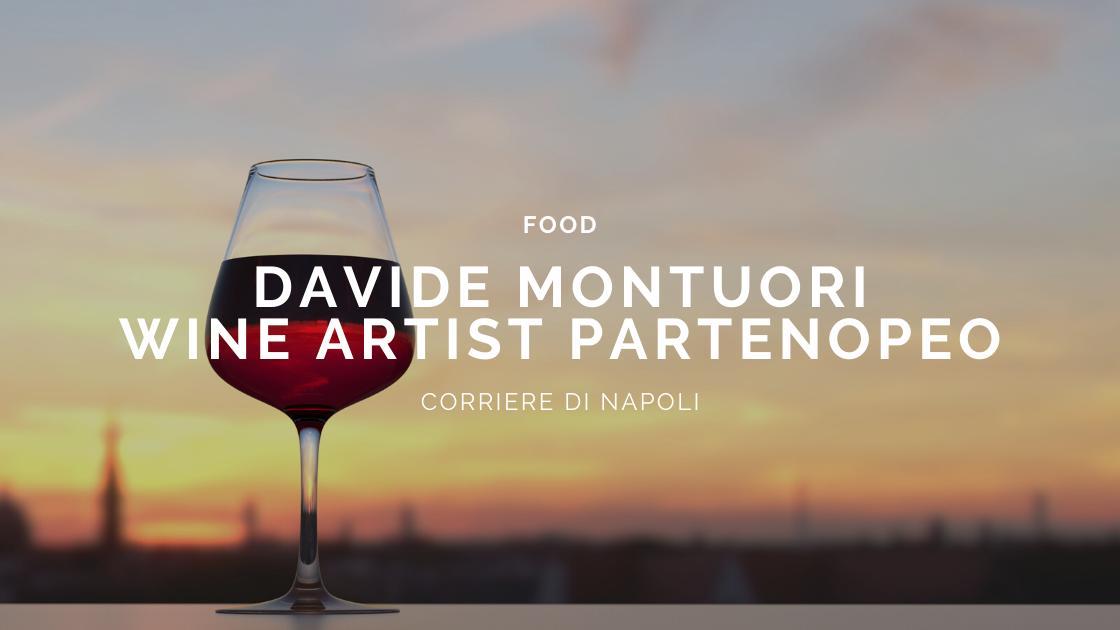 #vivinapoli: Davide Montuori, il wine artist partenopeo