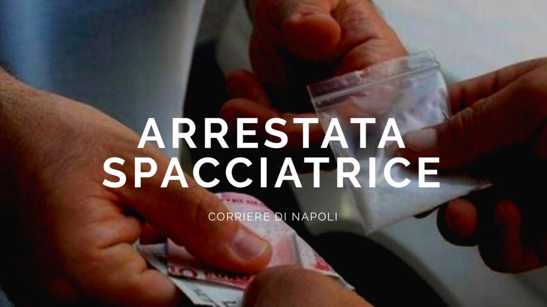 News, Napoli: Arrestata spacciatrice