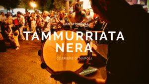 The black tammurriata