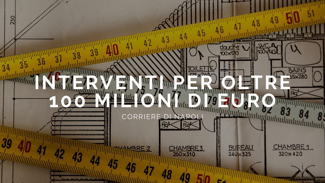 Coronavirus, l'edilizia in Campania: via ad interventi per oltre 100milioni di euro