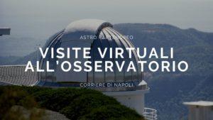 visite virtuali all'Osservatorio Astronomico