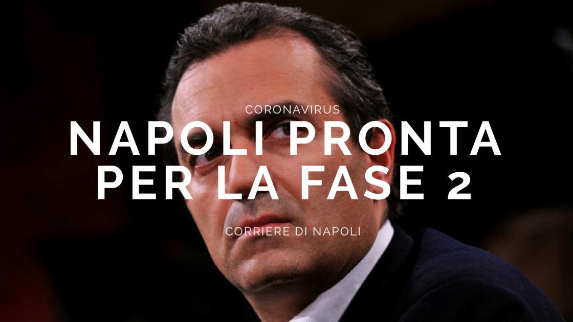 """Coronavirus, de Magistris: """"Napoli pronta per la fase 2"""""""