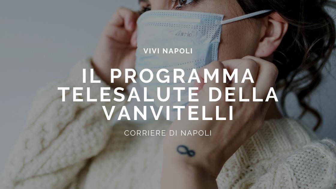 """Il programma """"TeleSalute"""" della Vanvitelli"""