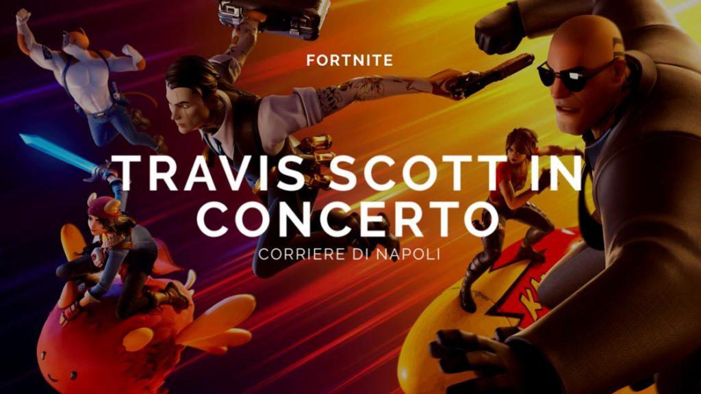 Fortnite: concerto di Travis Scott, tutte le info