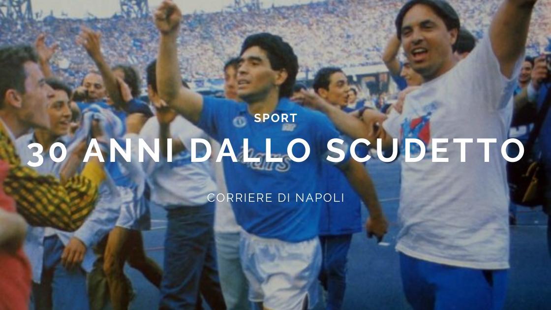 Sport, Calcio: 30 anni fa l'ultimo scudetto del Napoli