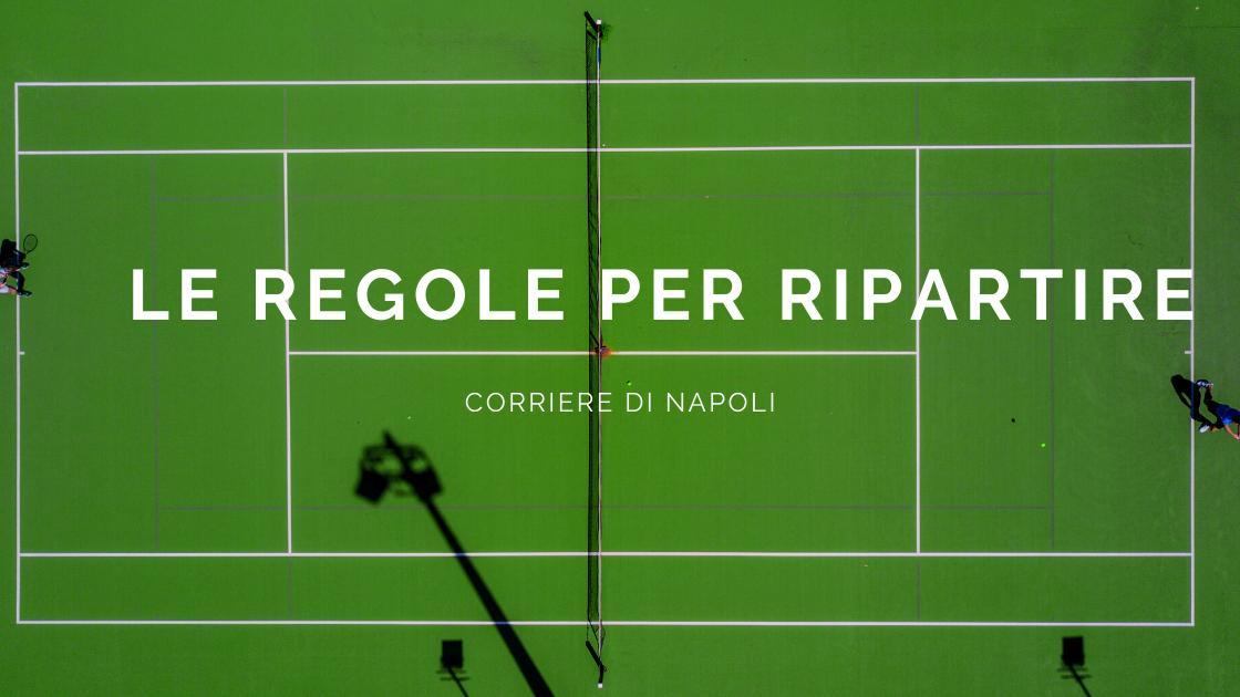 """Coronavirus, Tennis: il """"Nonalogo"""", le nuove regole per ripartire"""