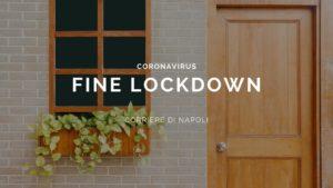 Fine del lockdown