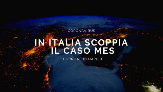 Coronavirus: in Italia scoppia il caso MES