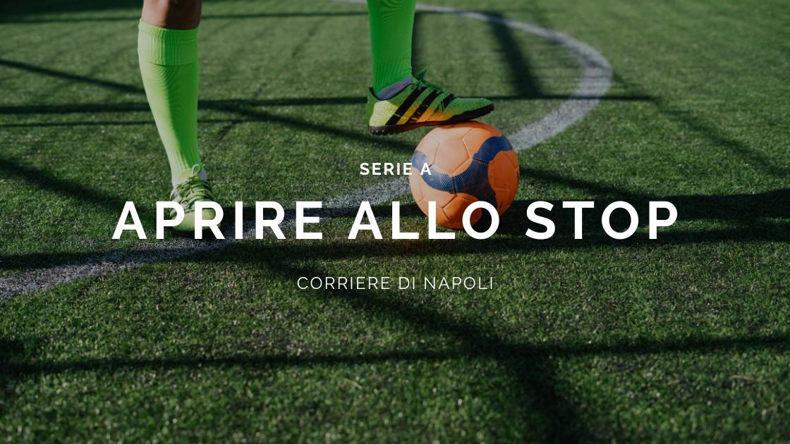 Sport, Calcio: Spadafora e la Serie A aprono allo stop