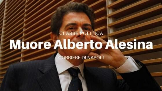 #classepolitica Muore l'economista Alberto Alesina