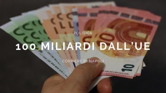 Politica, pronti 100 miliardi a fondo perduto per l'Italia
