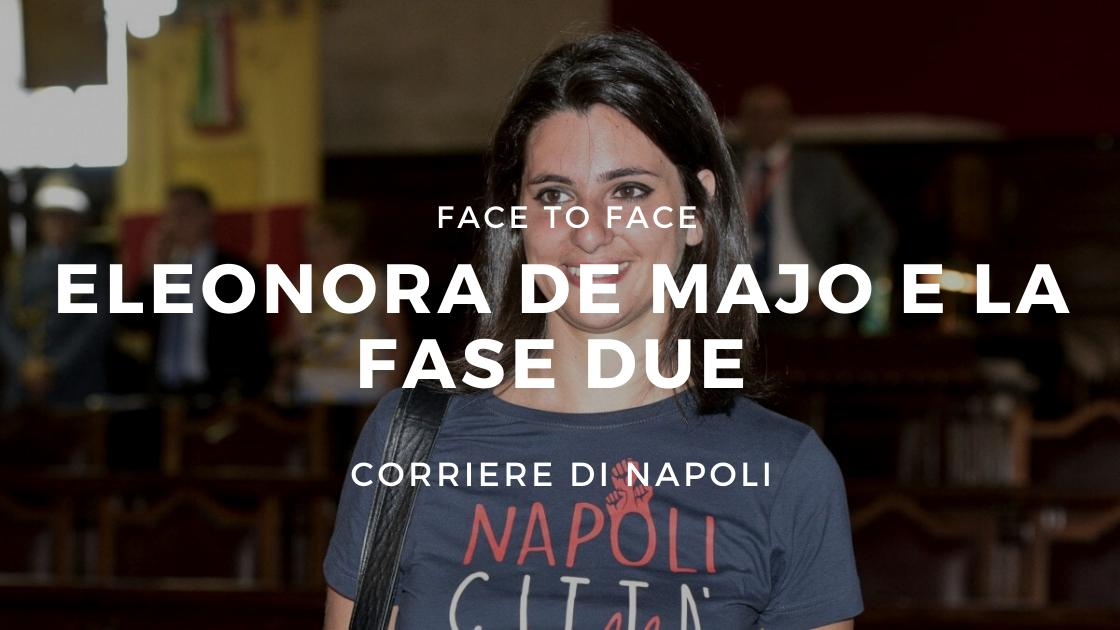 #FaceToFace:Eleonora De Majo e la Fase 2 della Cultura