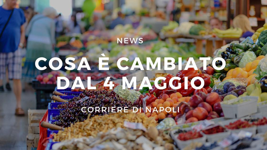 News, Napoli: Cosa è cambiato dal 4 Maggio