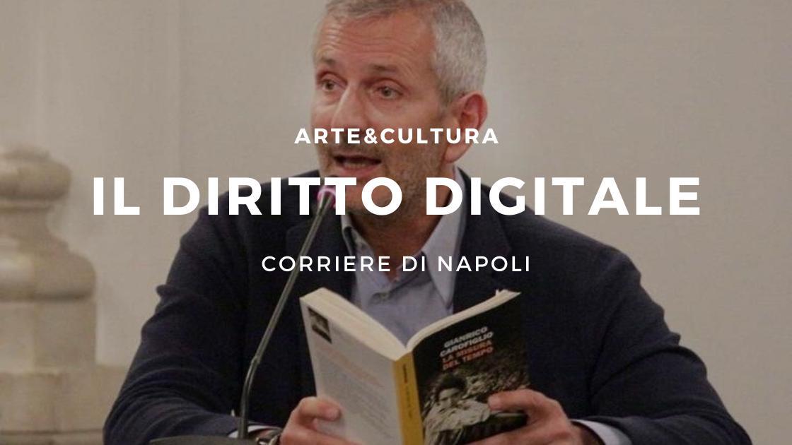 Gianrico Carofiglio sbarca con il diritto digitale
