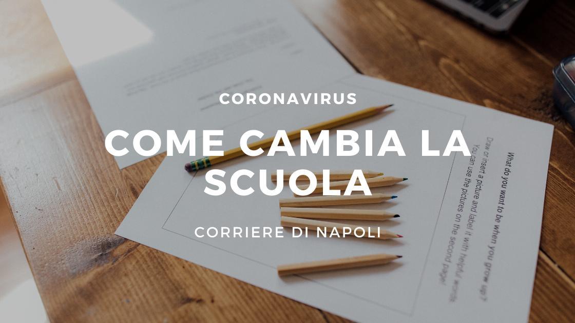 Coronavirus: come cambierà la scuola?