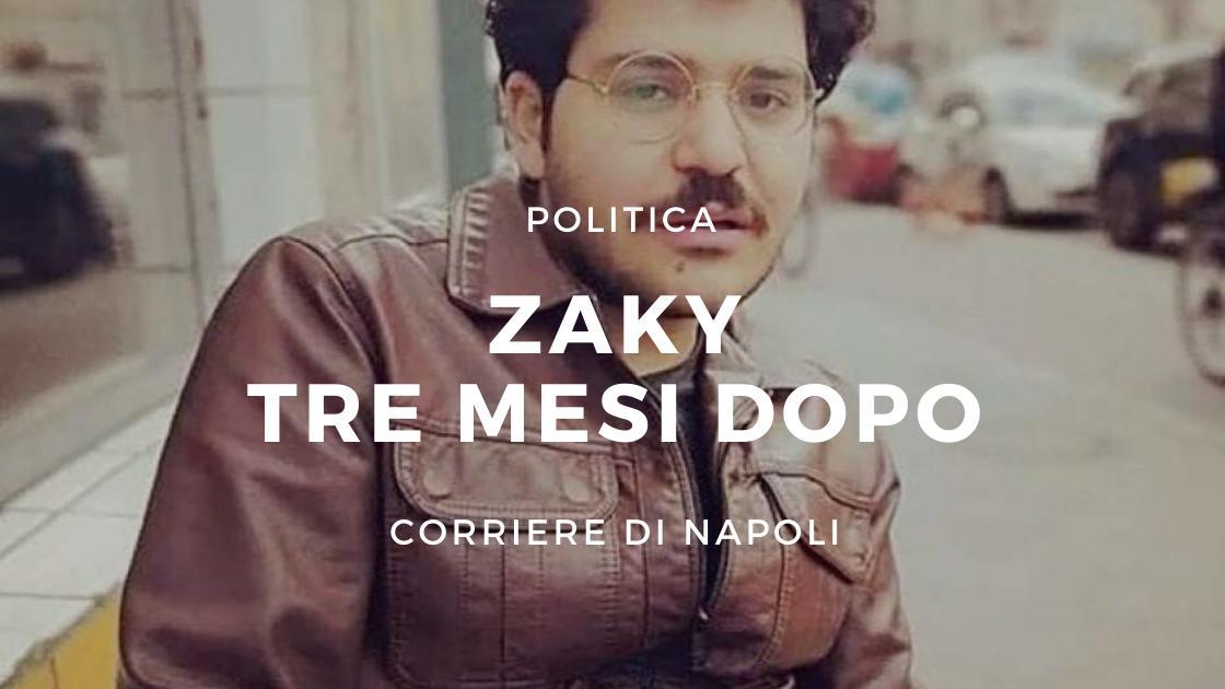 Politica: la situazione Zaky 3 mesi dopo