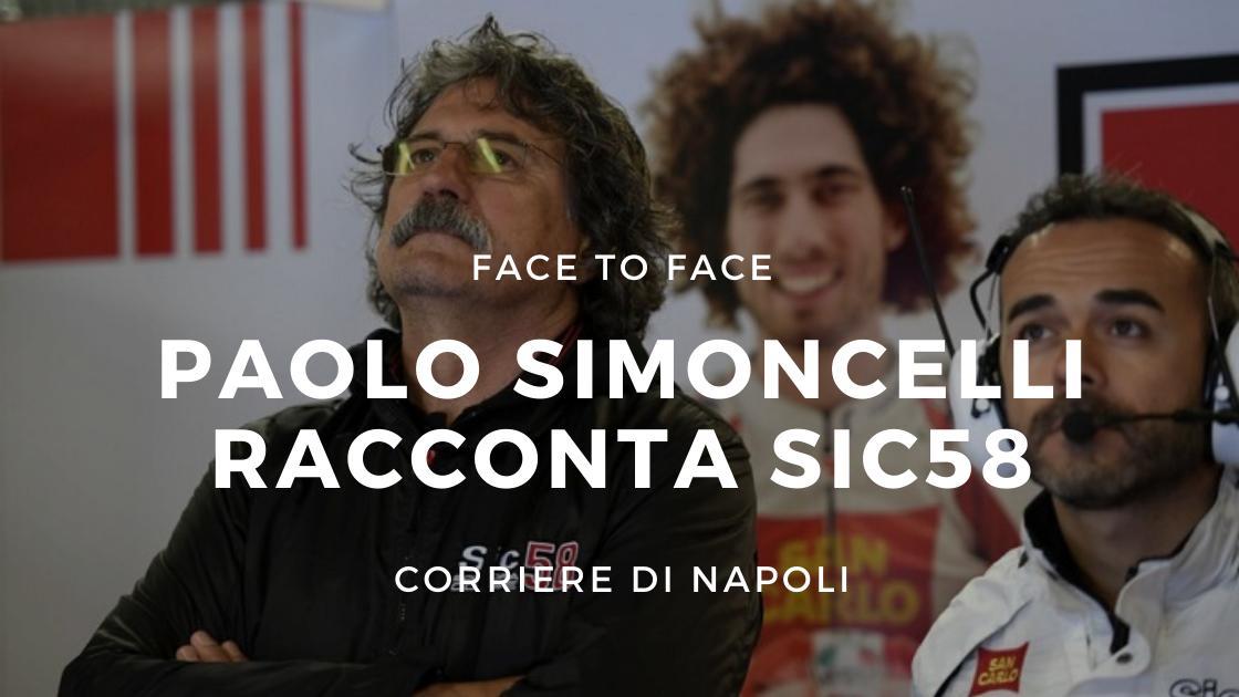 "FaceToFace: Paolo Simoncelli racconta Sic58: ""Marco ragazzo speciale"""