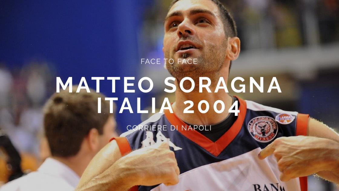 FaceToFace, Matteo Soragna racconta l'Italia di Atene 2004