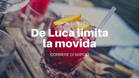 Coronavirus: Vincenzo De Luca introduce il coprifuoco. Stop alle bevande dopo le 22