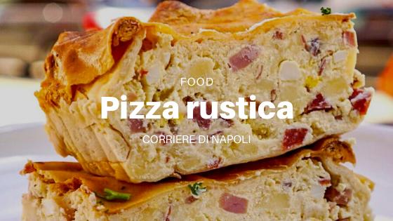La pizza rústica, un clásico napolitano