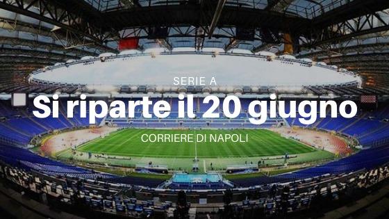 Calcio, Serie A: ok dal CTS per il protocollo partite. Il 20 giugno si riparte